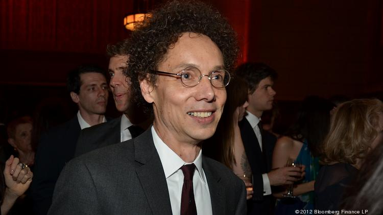 Malcolm Gladwell in 2012. He is scheduled to speak at this year's Leadercast conference. (Photographer: Amanda Gordon/Bloomberg)