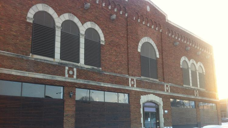 Above is the former El Torreon building and Bridgeport Community Church's new home.