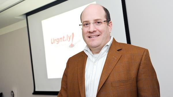 Urgent.ly co-founder Ric Fleisher. Urgent.ly is fresh off a more than $500,000 seed raise (more on that below) and preparing for a larger Series A round.