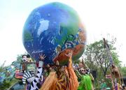 You can't have an Earth Day celebration without the Earth.