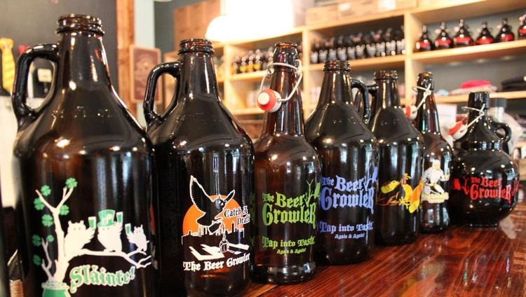 the beer growler to open in charlotte s south end charlotte