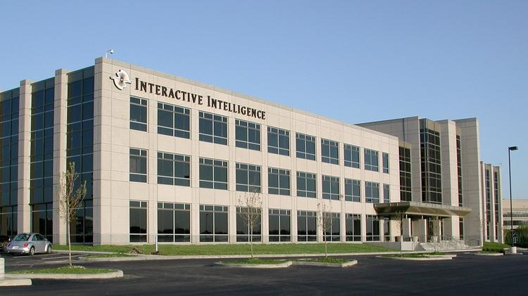 HQ building of Interactive Intelligence in Indianapolis.