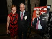 Career Achievement Award Winner Russ Nelson and his wife, Nancy, at the 2014 Best in Real Estate awards ceremony.