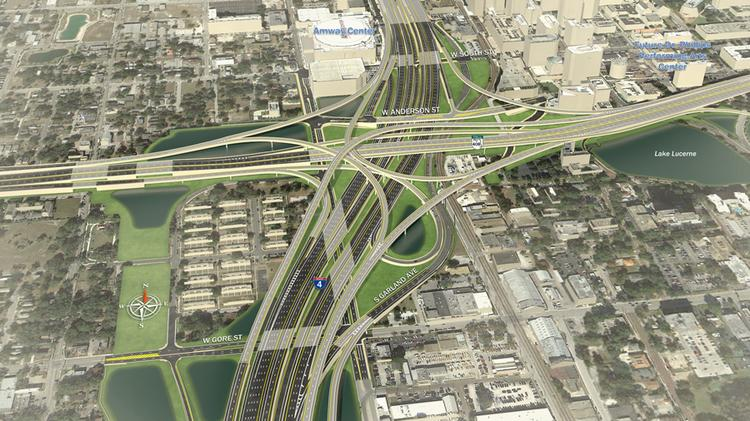 A look at the I-4 makeover at State Road 408.