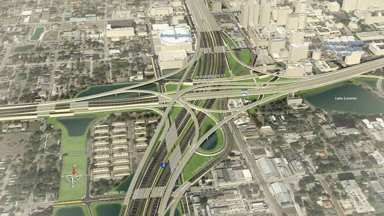 A look at the I-4 makeover at State Road 408