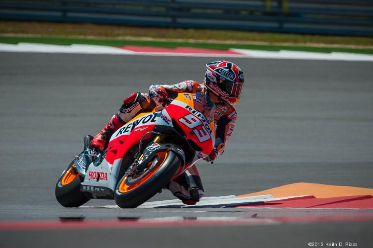 Marc Marquez becomes the youngest rider in MotoGP history to win a Grand Prix at the inaugural Red Bull MotoGP of the Americas in Austin.