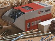 Wurth Adams carries a wide range of parts with more than 420,000 items available.