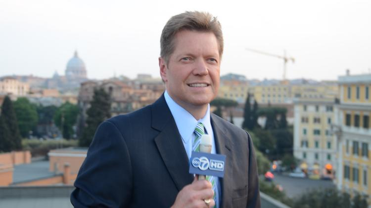 Channel 7 anchor Alan Krashesky has been reporting on the Vatican and papal matters for more than 20 years.