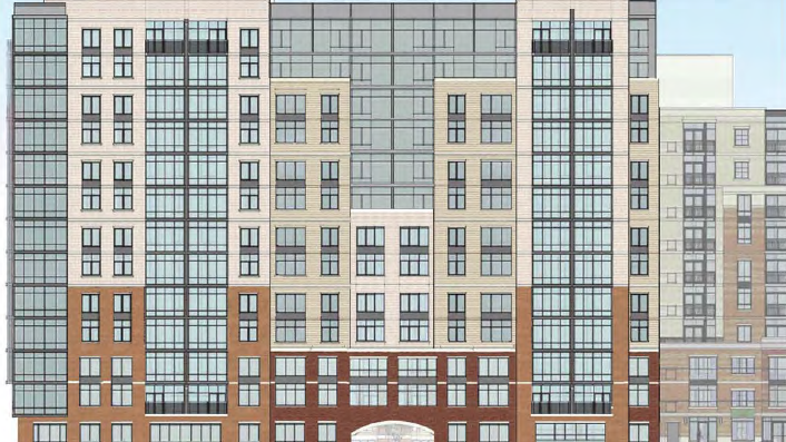 Toll Brothers is proposing to add 25 units and 3,000 square feet of retail to its planned NoMa apartment project, but it will need Zoning Commission approval first.