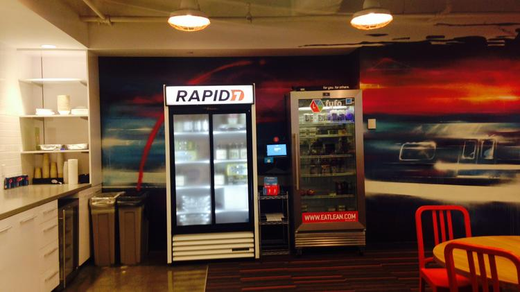 Boston-based IT security firm Rapid7 hosted a grand opening celebration on Thursday of their new headquarters at 100 Summer St.