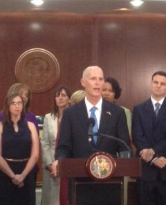 Gov. Rick Scott signed a sweeping education bill, SB 1076, into law Monday.