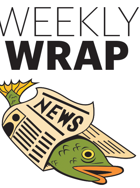 The Weekly Wrap is Sanford Nowlin's online column of the top news stories of the week.