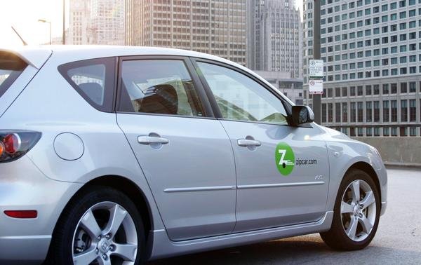 The Mazda 3 will be among the models Zipcar will be offering in Memphis