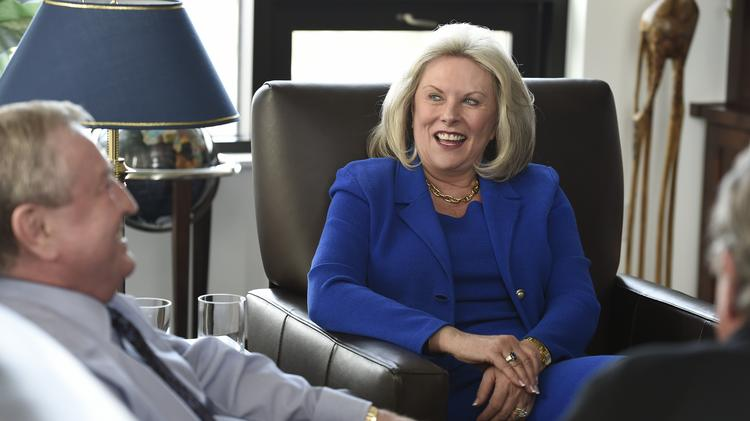 He's CEO/President of the Colorado Bankers Association.  She's CEO/President of the Daniels Fund. He represents the banks of Colorado, currently in the throws of murky regulatory issues associated with the legalization of recreational marijuana in Colorado.. She's in charge of the $1 billion-plus bankroll at the Daniels Fund and oversees the awards of $60 million-a-year to scholarships and non-profits.