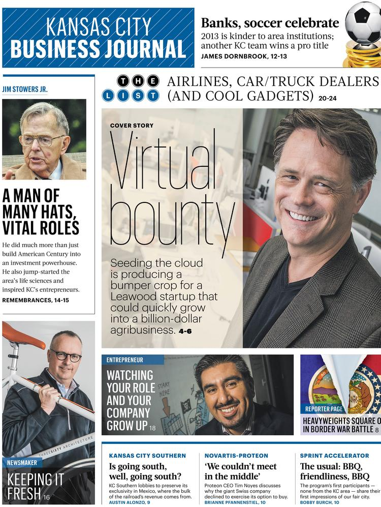 The front page of the March 21, 2014, weekly edition.