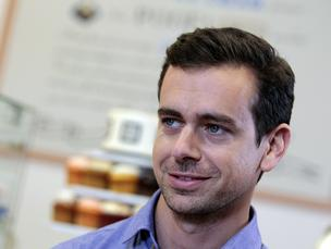 Jack Dorsey,  co-founder and chief executive officer of Square, speaks during an interview at Just Baked Cupcakes in Detroit in Sept. 17, 2013.