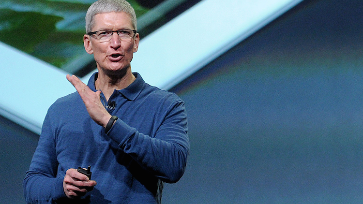 Tim Cook, Apple CEO, said the company saw its best non-holiday quarter ever in the second quarter.