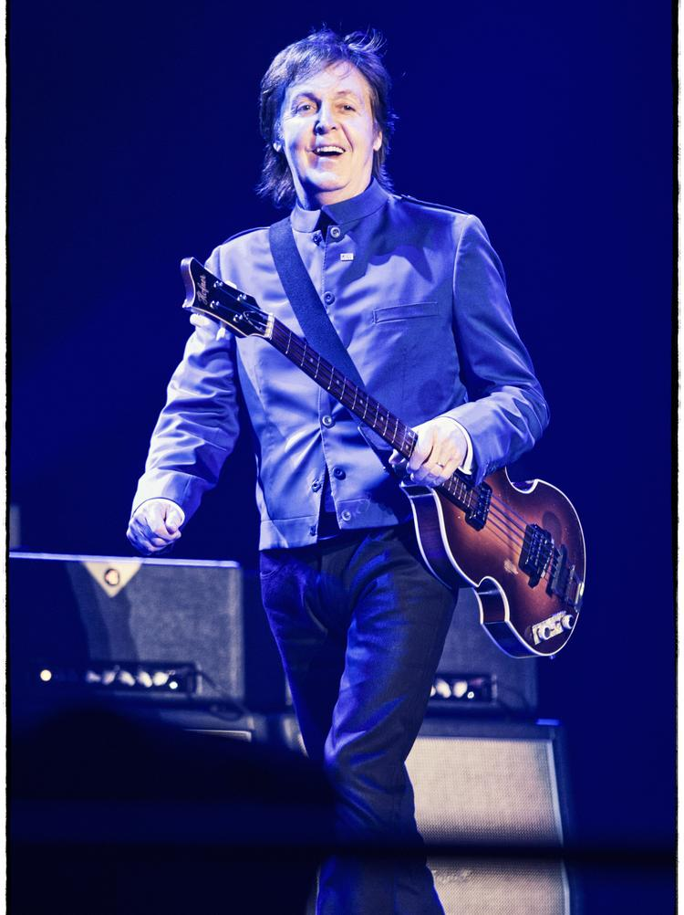 """Paul McCartney began his """"Out There"""" tour last year."""