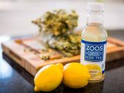 One of the ZOOS products, lemon iced tea.