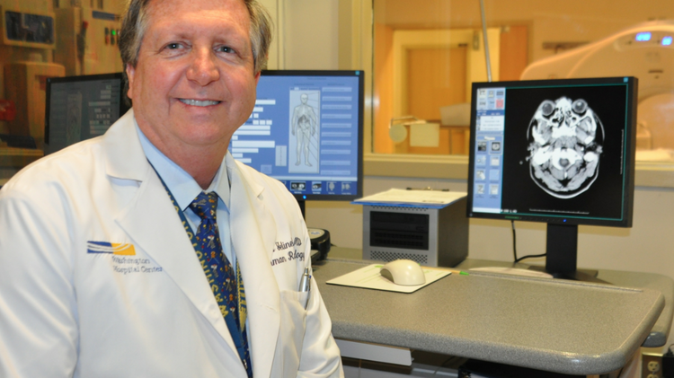 Dr. James Jelinek, who started MedStar's radiation reduction program, which encourages radiologists to more carefully consider patient radiation exposure and referring physicians to rethink imaging.