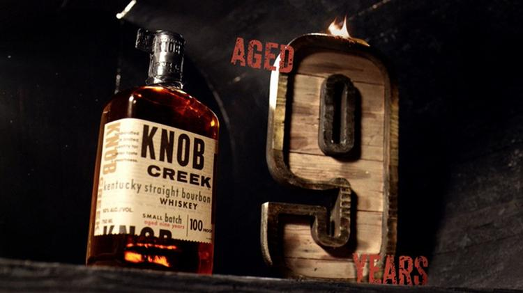 Knob Creek brand sales have grown 20 percent in the past year.