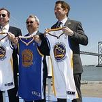 S.F. officials' fast break defense of Warriors arena