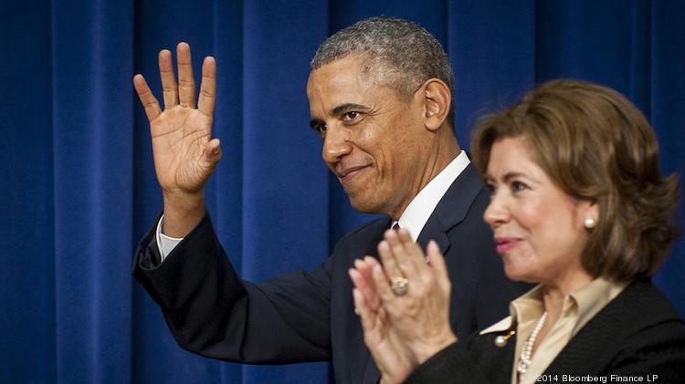 Careful what you clap for: New SBA Administrator Maria Contreras-Sweet praised a export assistance program that President Barack Obama has targeted for elimination.