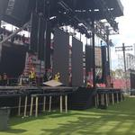 IIFA stage goes up at Raymond James Stadium