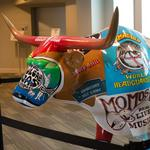 Longhorn art graces Austin businesses for <strong>Mack</strong>, Jack & McConaughey charities