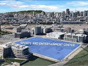 The Warriors' upcoming move to this Mission Bay plot is drawing restaurants and retail to the up-and-coming area.