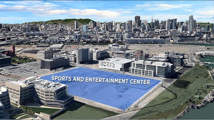 The Warriors abandoned plans to build an arena on Piers 30-32 in San Francisco, choosing instead to put the project in the Mission Bay neighborhood. Now they want to add 500,000 square feet of offices to it.