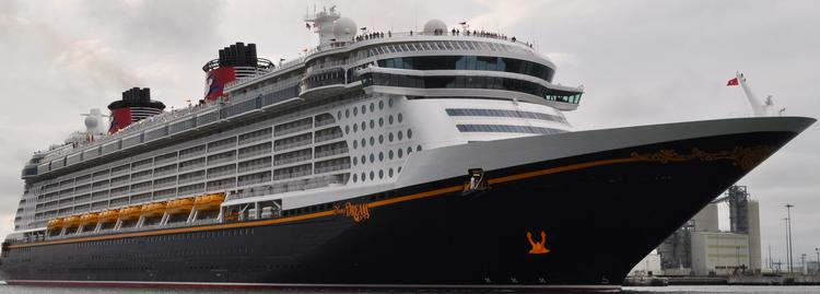 The Disney Dream will be joined by the Disney Magic and Disney Fantasy at Port Canaveral in 2014.