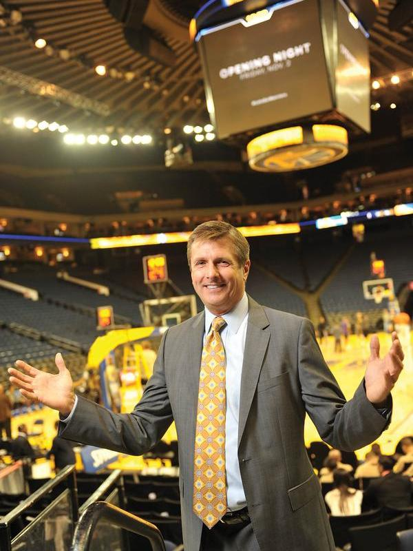 Golden State Warriors President Rick Welts explains why the team chose to build in San Francisco's Mission Bay rather than on piers over the bay.