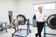 Clients at the training center can get maintenance training on Pratt & Whitney engines.