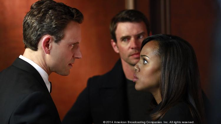 """The shocking season finale of """"Scandal"""" earned a 3.4 rating average—the show's second-highest rating ever—as well as a series-high 10.6 million total viewers."""