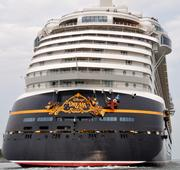 The Disney Dream was the third ship to leave Port Canaveral Sunday.