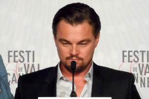Leonardo Di Caprio attends the Cannes Film Festival press conference of