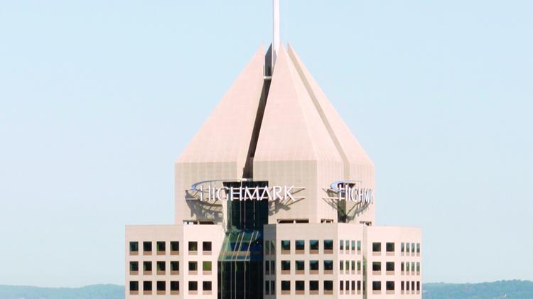 Highmark Inc. is based in downtown Pittsburgh.