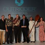 Outrigger execs travel from Hawaii to Mauritius for resort opening