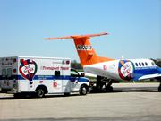 The plane will be used to transport patients from across Kentucky and Indiana to Kosair Children's Hospital.