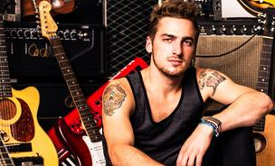 Kendall Schmidt, formerly the star of Nickelodeon's Big Time Rush, has formed a new band called Heffron Drive, and he is bypassing traditional record labels to reach fans directly using a service called TuneCore. Click ahead to meet his bandmate.