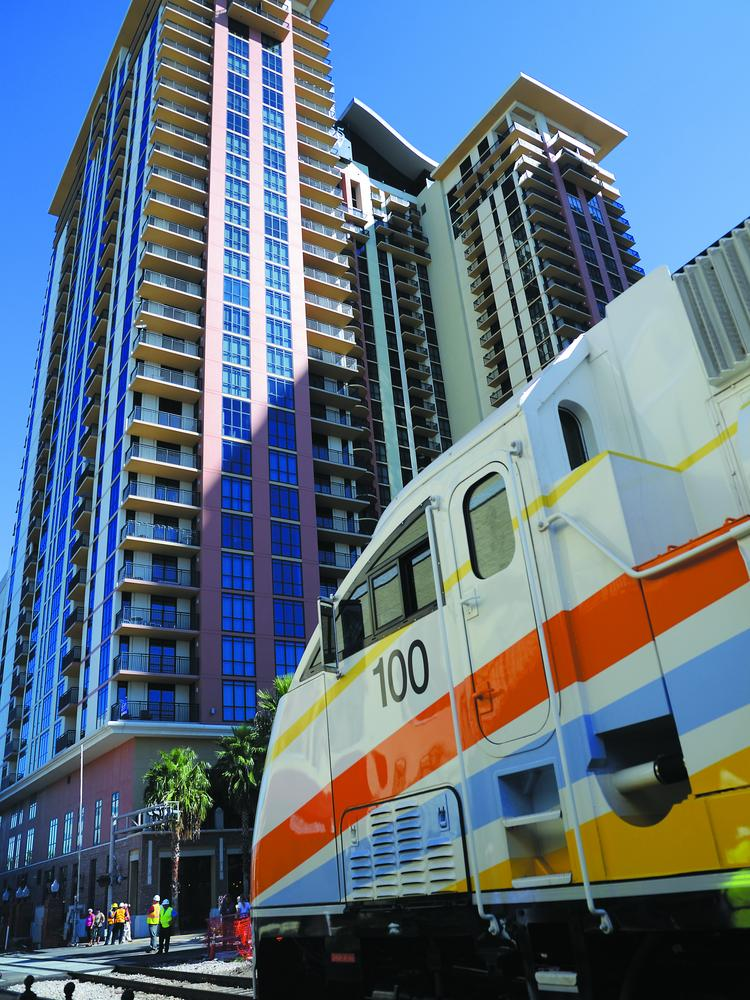 SunRail makes stops at 12 stations along its first phase of tracks, including several in downtown Orlando.