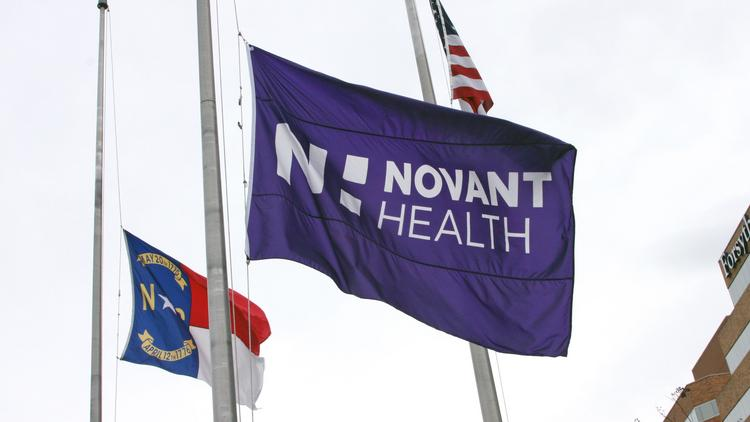 Novant Health posted a $39.3 million profit during its first quarter, according to a financial report released Friday.