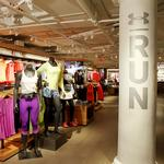 Under Armour is building a lab to test store designs