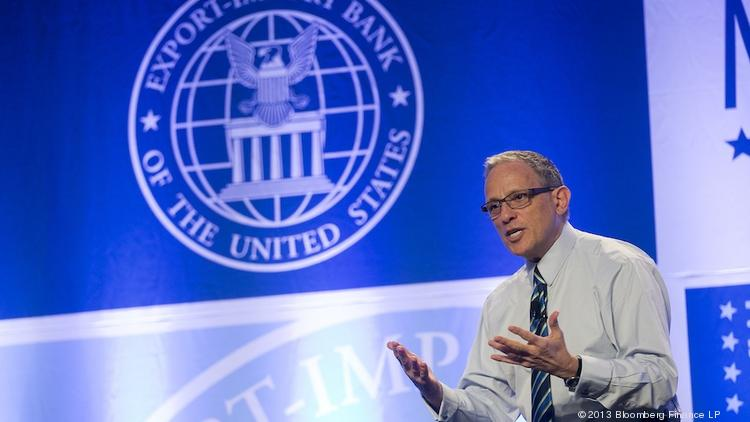 Fred Hochberg, chairman and president of the U.S. Export-Import Bank, speaks during the U.S. Export-Import Bank annual conference in Washington, D.C., in April of 2013.