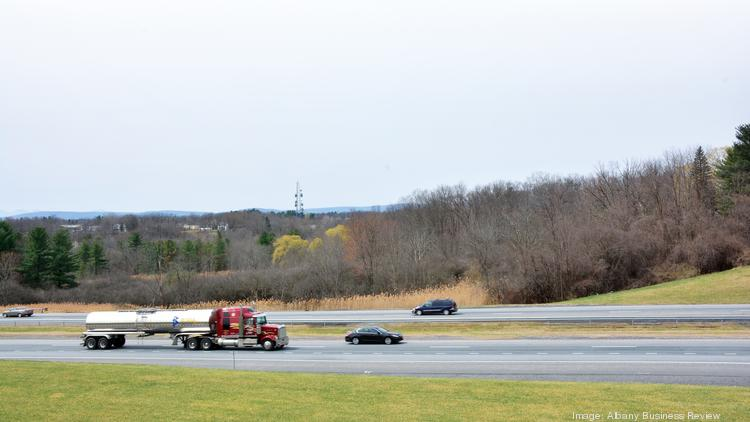 The near-60-acre Noonan family property borders the New York state Thruway. It's where Exit 23, I-787 and Route 9W come together. The property is the site of a proposed $300 million casino and resort.