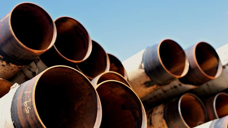 Many of the pipes used in U.S. energy production aren't made in America.