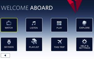 Delta adding entertainment and food options on certain transcon flights