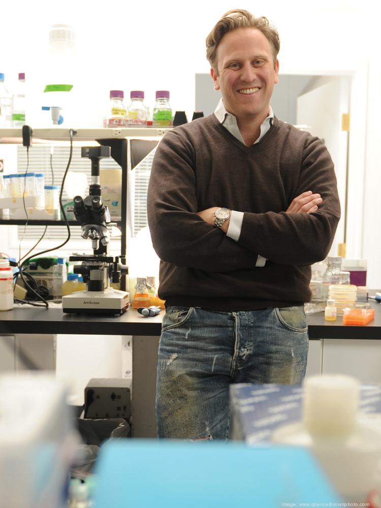 Tom Chalberg is CEO of Avalanche Biotechnologies, which moved late last year from San Francisco to Menlo Park.