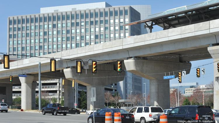Silver Line startup by July 28. It apperas so. Here, Tysons East Metro station is seen under construction Sept. 13, 2013.